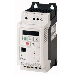EATON DC1-122D3FN-A20CE1 - 1 fasefrequentieregelaar 230 VAC, 0,4 kW