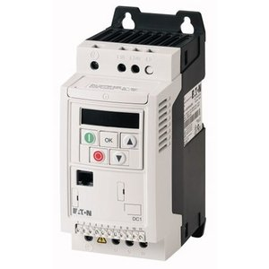 EATON DC1-127D0FN-A20CE1 1 phase frequency inverter 230 VAC, 1.5 kW