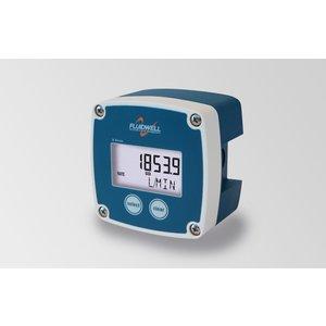 Fluidwell B-Smart - Flow rate indicator / totalizer met puls -en analoog uitgang