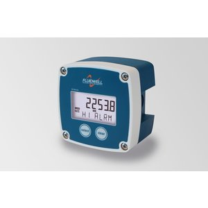 Fluidwell B-Alert - Flow rate monitor/totalizer met alarm +puls uitgang