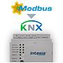 Intesis Modbus naar KNX-gateway INKNXMBM1000000 - 100 data punten