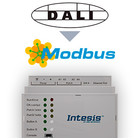 Intesis DALI naar Modbus TCP & RTU gateway INMBSDAL0640000 64 devices