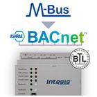 Intesis M-Bus naar BACnet-gateway INBACMEB0100000  -10 devices