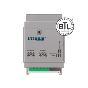 Intesis BACnet MS/TP to BACnet IP router INBACRTR0320000 - 32 devices