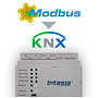 Intesis Modbus naar KNX-gateway INKNXMBM2500000 - 250 data punten