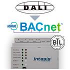 Intesis DALI naar BACnet server gateway INBACDAL1280000 - 128 devices