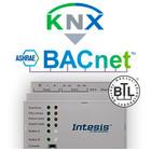 Intesis KNX naar BACnet gateway INBACKNX6000000- 600 data punten