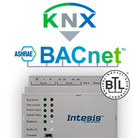 Intesis KNX naar BACnet gateway INBACKNX1K20000- 1200 data punten
