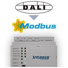 Intesis DALI naar Modbus TCP & RTU gateway INMBSDAL1280000 128 devices