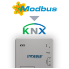 Intesis Modbus RTU naar KNX-gateway INKNXMBM1000100 - 100 data punten
