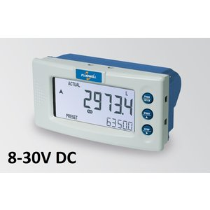 Fluidwell D030 Batch controller - with one output - panel mounting