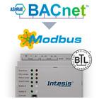 Intesis BACnet to Modbus gateway INMBSBAC3K00000 - 3000 datapoints