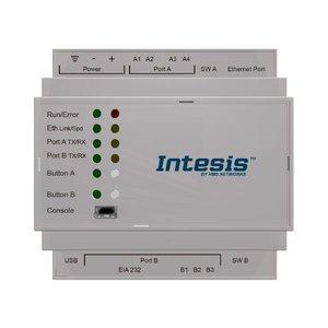 Intesis Modbus TCP/RTU to BACnet IP & MS/TP server gateway  INBACMBM6000000- 600 points