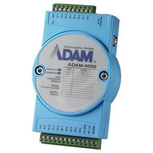 Advantech ADAM-6050, 18-kanaals geïsoleerde DI/O-module
