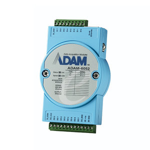 Advantech ADAM-6052, 16-Channel Source Type DI/O Module, Ethernet