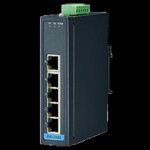 Advantech EKI-2525-BE, 5-poorts 10/100Mbps unmanaged Ethernet-switch