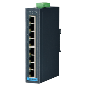 Advantech EKI-2528I, 8-port Unmanaged Ind. Ethernet Switch with Wide Temperature