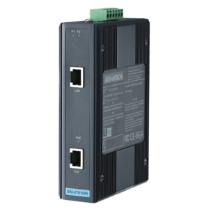 Advantech EKI-2701HPI, Industrial IEEE 802.3at Gigabit PoE Injector