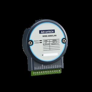 Advantech WISE-4060/LAN, 4-kanaals digitale ingang en 4-kanaals relais IoT Ethernet I/O-module