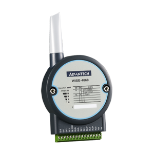 Advantech WISE-4060, 4-channel Digital Input and 4-channel Relay IoT Wireless I/O Module