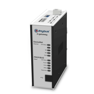 Anybus X-Gateway Devicenet master - Profibus DP-V0 slave, AB7663