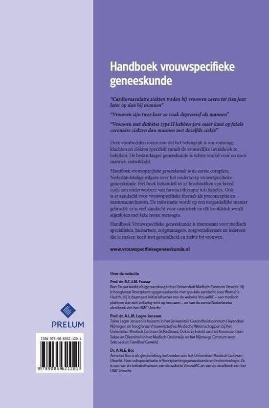 Handboek vrouwspecifieke geneeskunde