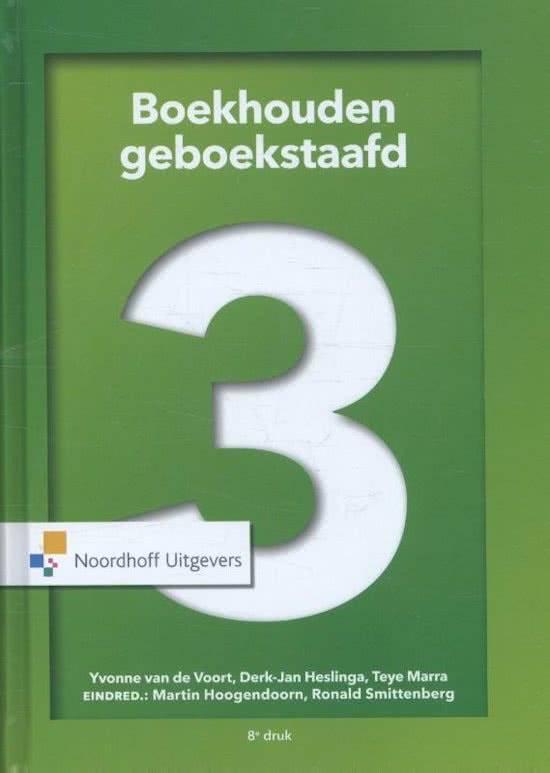 Boekhouden geboekstaafd 3 druk 8