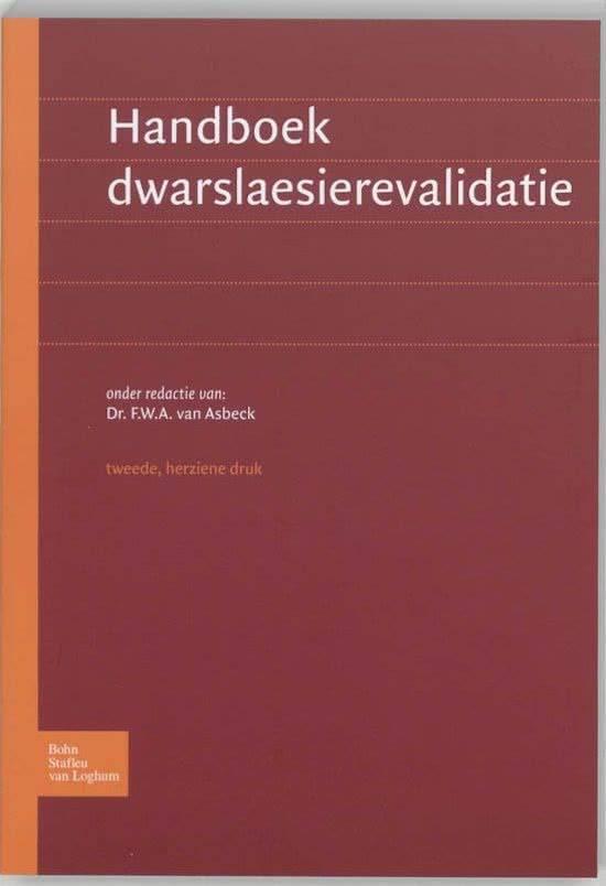 Handboek dwarslaesierevalidatie druk 2