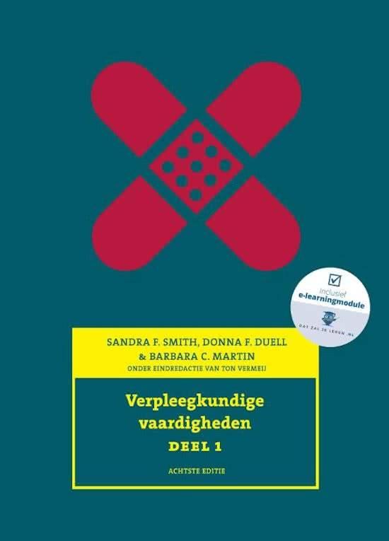 Verpleegkundige vaardigheden  deel 1 editie 8