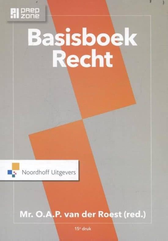 Basisboek Recht druk 15