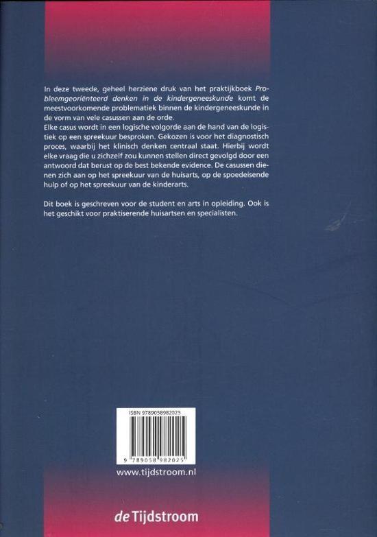 Probleemgeori nteerd denken in de kindergeneeskunde druk 2