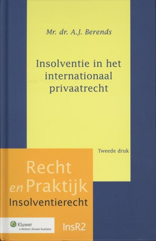 Insolventie in het internationaal privaatrecht druk 2