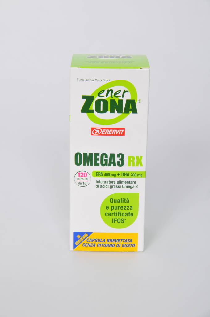 Doos met 6 containers Omega-Rx  van 120 Capsules  - Copy