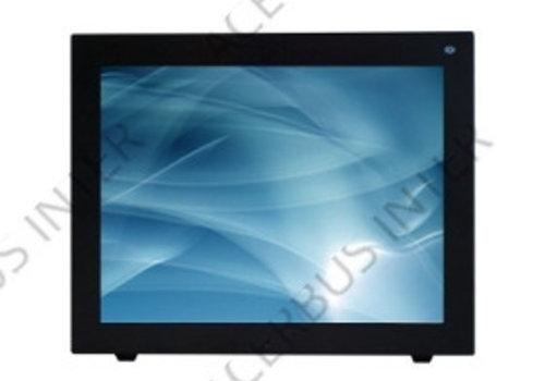 """LED CCTV monitor 10"""" met BNC, VGA en glasplaat"""