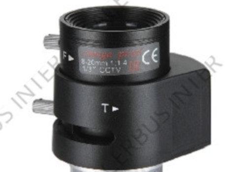 """FOCO HD3000 1.3MP f=8-20mm F:1.4, DC, CS 1/3"""""""