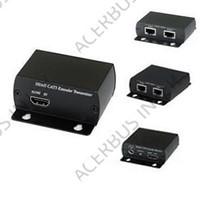 HDMI - UTP Transceiver over 2 CAT5 kabels, 1080p max 50mtr