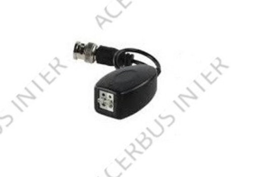 COAX-UTP Video balun met klemverbinding en verleng kabel