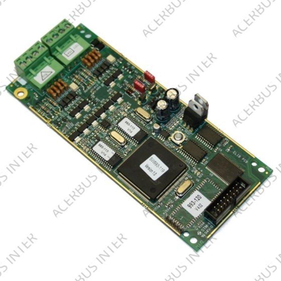 NF3000 2 lussen uitbreidingkaart E-LIB >512 melders
