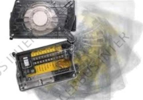 DNRE Analoge Luchtkanaalmelder met B501AP Sokkel