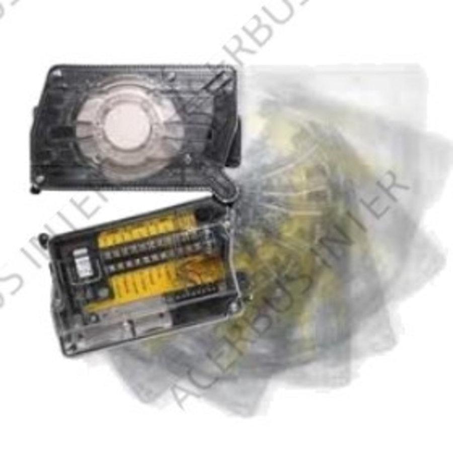 D2E Luchtkanaalmelder 8,5-35 Vdc, 2 draads (excl. detector)