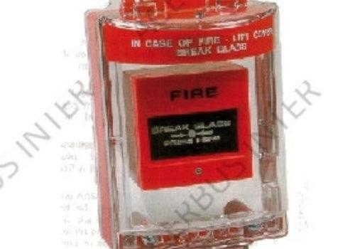 Afdekkap voor handbrandmelder, inbouw excl. sirene