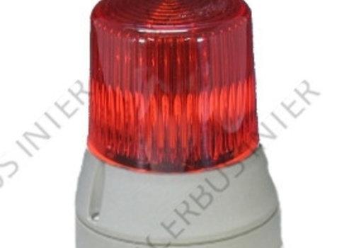 Flitser Rood 24V  (uitvoering gelijk aan de RBL 5)