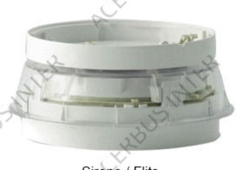 NFXI-BSF-WC Sokkel Sounder/flits 95db(A) 1m WIT