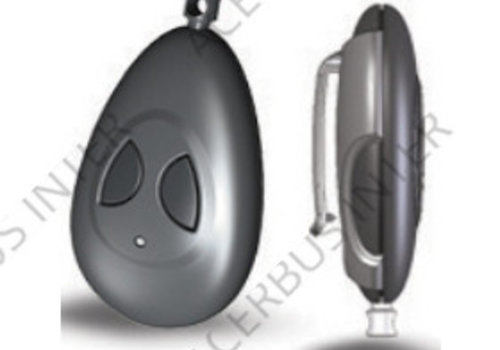 T52 Draadloze 2 knops paniekzender 868Mhz type A-B
