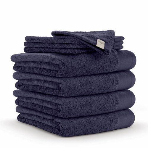 Walra Handdoek - Soft Cotton - Navy Blauw