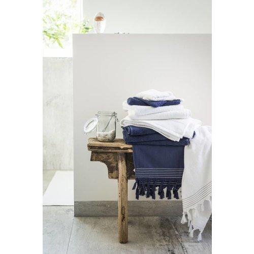 Walra Baddoek - Soft Cotton - 60x110 cm - Navy Blauw
