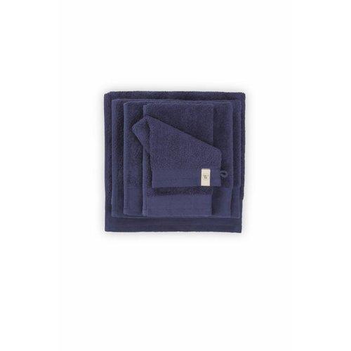 Walra Douchelaken - Soft Cotton - 70x140 cm - Navy Blauw