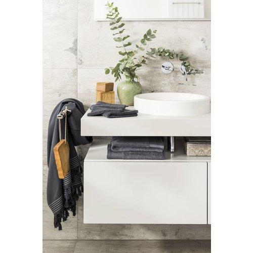 Walra Douchelaken - Soft Cotton - 70x140 cm - Antraciet