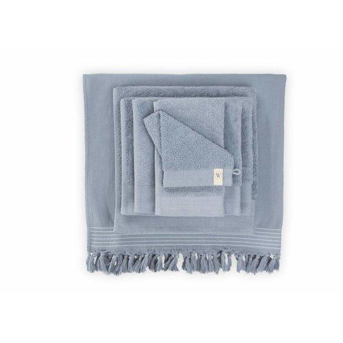 Walra Douchelaken - Soft Cotton - 70x140 cm - Blauw