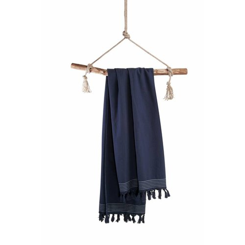 Walra Hamamdoek - Soft Cotton - Navy Blauw